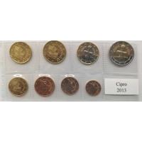 CYPRUS 2013 - EURO LOS SET - UNC