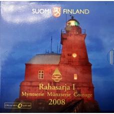 FINLAND 2008 - EURO COIN SET BU