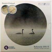 FINLAND 2011 - EURO COIN SET BU
