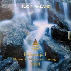FINLAND 2004 - EURO COIN SET BU