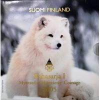 FINLAND 2005 - EURO COIN SET BU