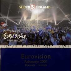 FINLAND 2007 - EURO COIN SET BU