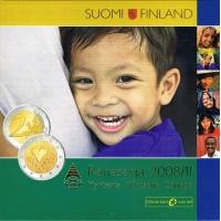FINLAND 2008 - EURO COIN SET BU - HUMAN RIGHTS