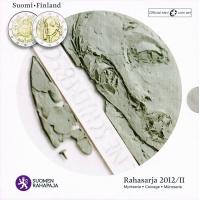 FINLAND 2012 - EURO COIN SET BU - COIN ARTN 2012