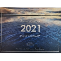 FINLAND 2021 - EURO COIN SET - PROOF