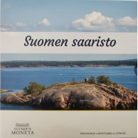 FINLAND 2021 - EURO COIN SET BU - finnish archipelago
