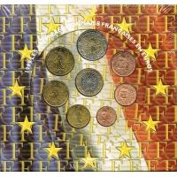 FRANCE 1999 - EURO COIN SET - BU
