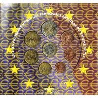 FRANCE 2001 - EURO COIN SET - BU