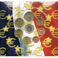 FRANCE 2004 - EURO COIN SET - BU