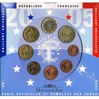FRANCE 2005 - EURO COIN SET - BU