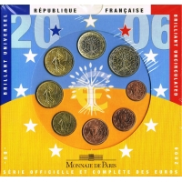 FRANCE 2006 - EURO COIN SET - BU