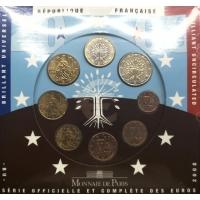 FRANCE 2008 - EURO COIN SET - BU