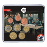 FRANCE 2018 - EURO COIN SET - THE GREAT WAR