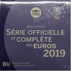 FRANCE 2019 - EURO COIN SET - BU