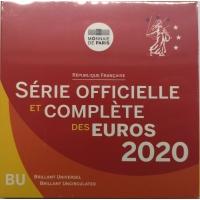 FRANCE 2020 - EURO COIN SET - BU
