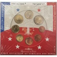 FRANCE 2010 - EURO COIN SET - BU
