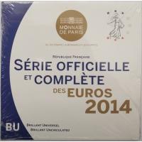 FRANCE 2014 - EURO COIN SET - BU
