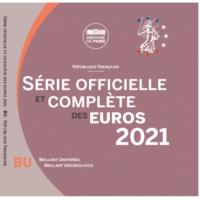 FRANCE 2021 - EURO COIN SET - BU