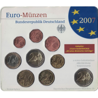GERMANY 2007 - EURO COIN SET