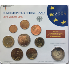 GERMANY 2009 - EURO COIN SET