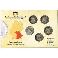 GERMANY 2012 -  EURO COIN SET