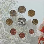GREECE EURO COINSET - BU + SILVER