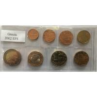 GREECE 2002 - EURO COIN SET