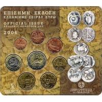 GREECE 2006 - EURO COIN SET BU
