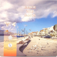 GREECE 2019 - EURO COIN SET - SAMOS