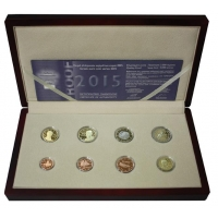 GREECE 2015 - EURO COIN SET - PROOF