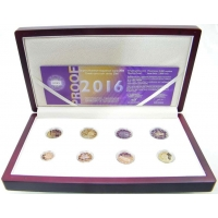 GREECE 2016 - EURO COIN SET - PROOF