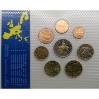 GREECE 2002 - EURO COIN SET - UNC (FES)