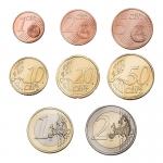 GREECE EURO COINSET - UNC