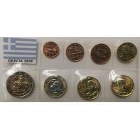 GREECE 2009 - EURO COIN SET