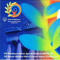 GREECE 2011 - EURO COIN SET BU - Special Olympics Athen 2011 - Acropolis