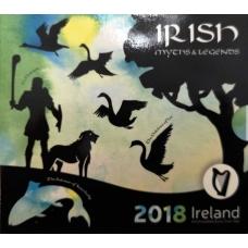 IRELAND 2018 - EURO COIN SET BU