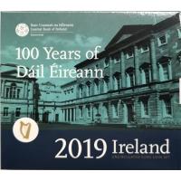 IRELAND 2019 - EURO COIN SET BU - 100TH YEARS  OF DAILI EIREANN