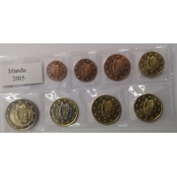 IRELAND 2005 - EURO SET - UNC