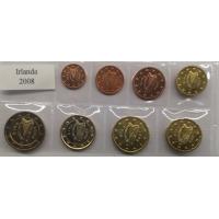 IRELAND 2008 - EURO SET - UNC