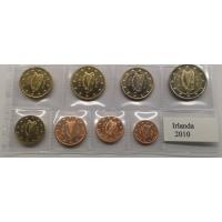 IRELAND 2010 - EURO SET - UNC