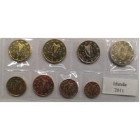 IRELAND 2011 - EURO SET - UNC