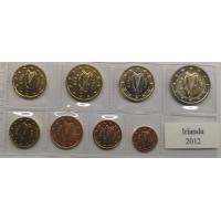 IRELAND 2012 - EURO SET - UNC