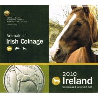 IRELAND 2010 - EURO COIN SET - Land of the Horses