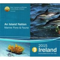 IRELAND 2015 - EURO COIN SET - Marine Flora and Fauna