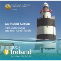IRELAND 2017 - EURO COIN SET BU - Lighthouses & Coast Guard