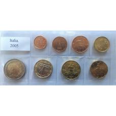ITALY 2005 - EURO COIN SET