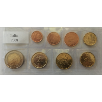 ITALY 2008 - EURO COIN SET