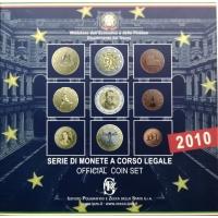 ITALY 2010 - EURO COIN SET -  (BU)