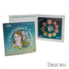 ITALY 2018 - EURO COIN SET (BU)