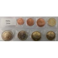 ITALY 2006 - EURO COIN SET - UNC